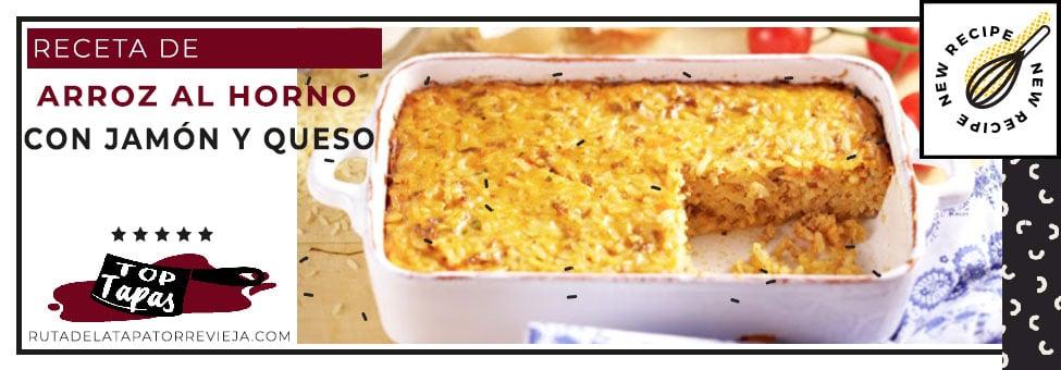 recetas-de-arroz-al-horno-con-jamon-queso